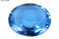 Swiss Blue Topaz Gemstone