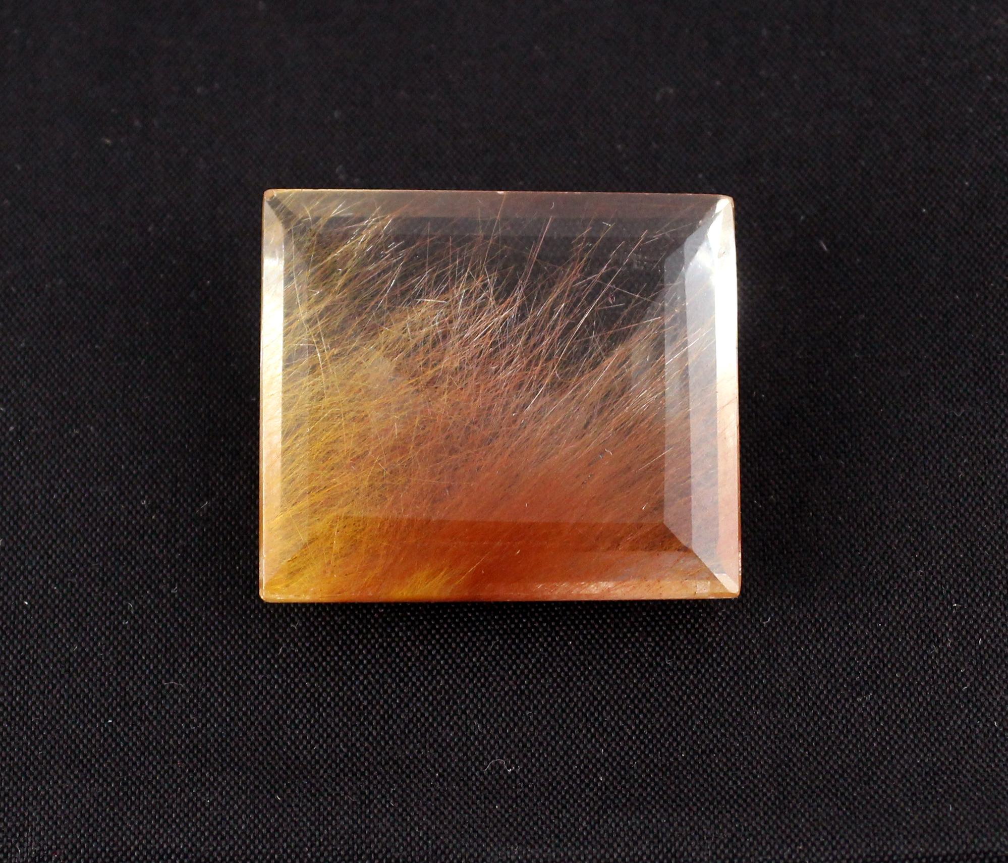 Bronze Rutile Quartz