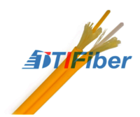 Simplex Fiber Optic Cable Outdoor Singlemode PVC Jacket For Data Communication