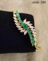Fancy Cufflink Bracelet