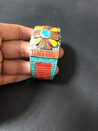 Stylish Cufflink Bracelet