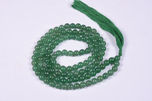 Green Jade Prayer Beads