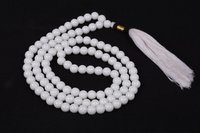 White Jade Prayer Beads