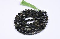 Golden Obsidian Prayer Beads