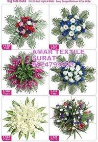 Handmade flower garland decoration