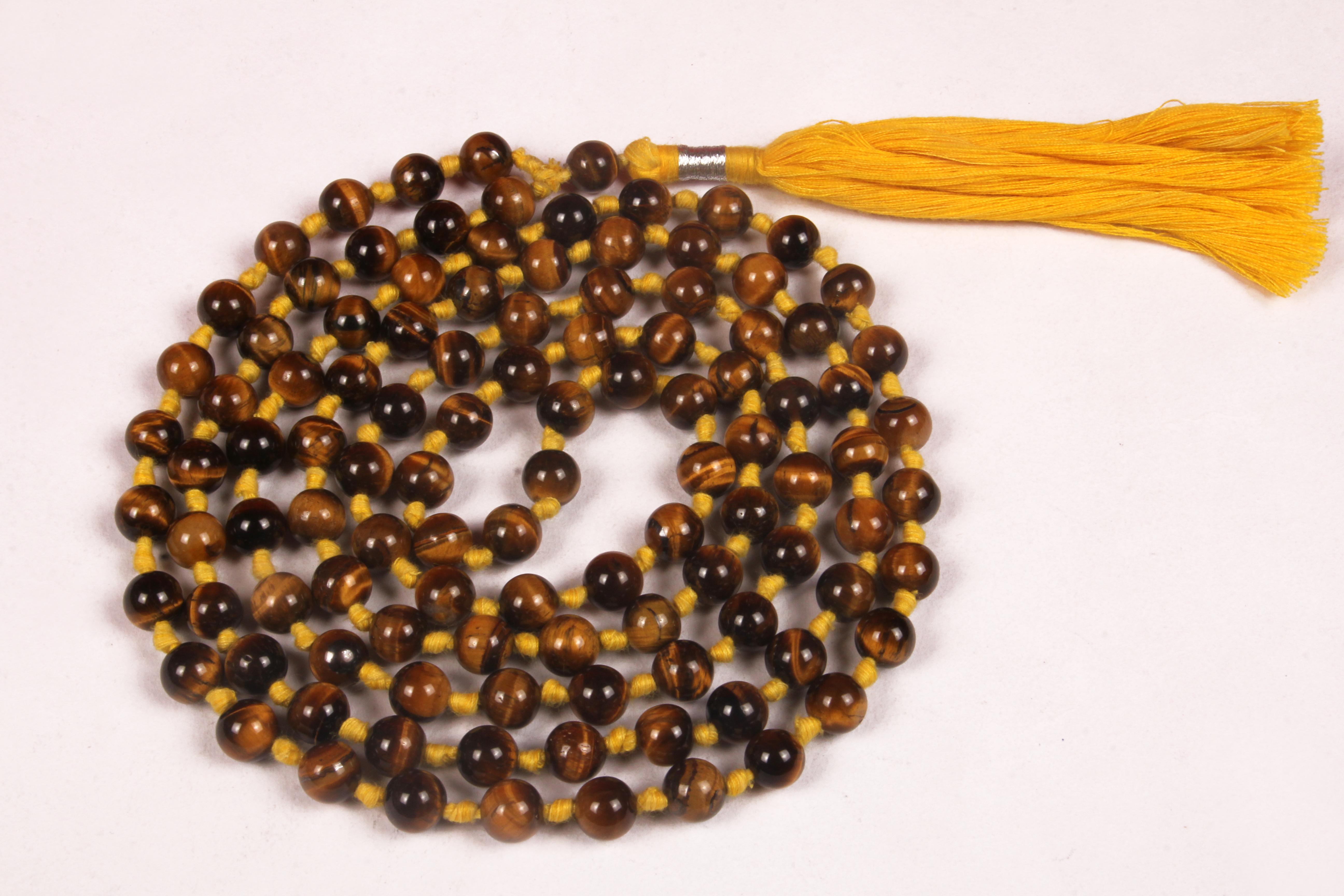 Tiger Eye Prayer Beads
