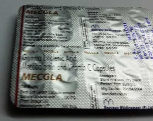 Mecobalamin vitamin c capsules