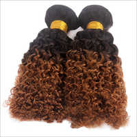 Double Drawn Kinky Curly Hairs