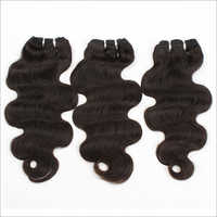Body Wave Machine Wefted Hair Extensions
