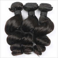 Broad Wave Machine Wefted Remy Virgin Hair Extensions