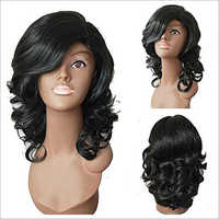 Fixed Parting Human Hair Wig