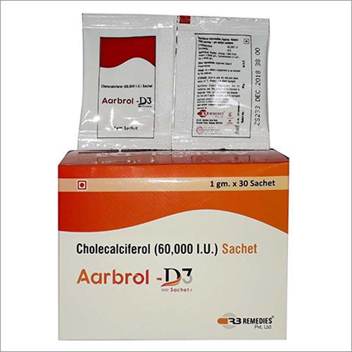 60000 IU Cholecalciferol Sachet