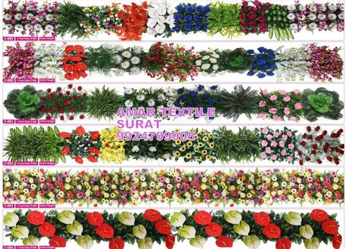 Artificial flower garlands for indian weddings decorations