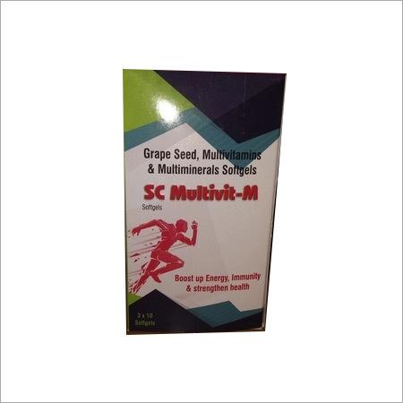 Grape Seed,Multivitamins & Multimineral Softgel