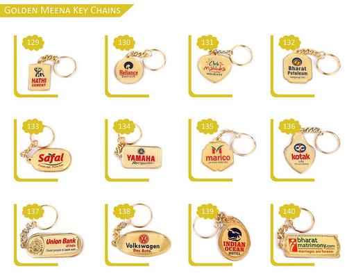 Golden Meena Key Chains