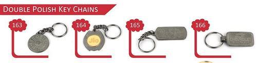 Double Polish Key Chains