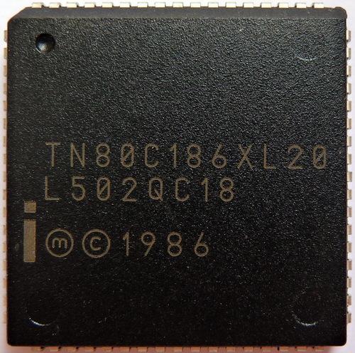 N80C186XL-20