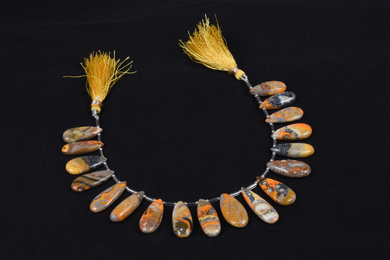 Bumble Jasper Plain Beads