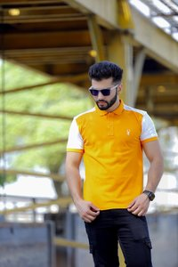 Mens Casual Regular Fit Polo T-Shirt