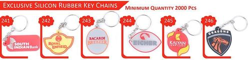 Exclusive Silicon Rubber Key Chains
