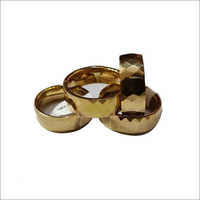 Tungsten Gold Magnetic Ring