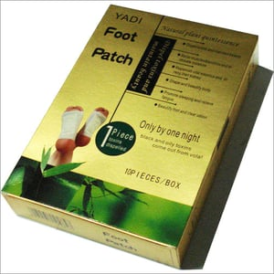 Foot Patch Gold