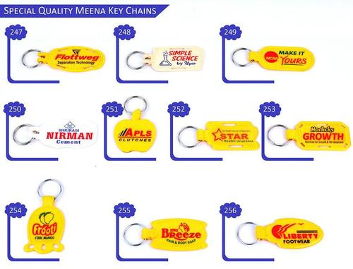 Plastic Meena Key Chains