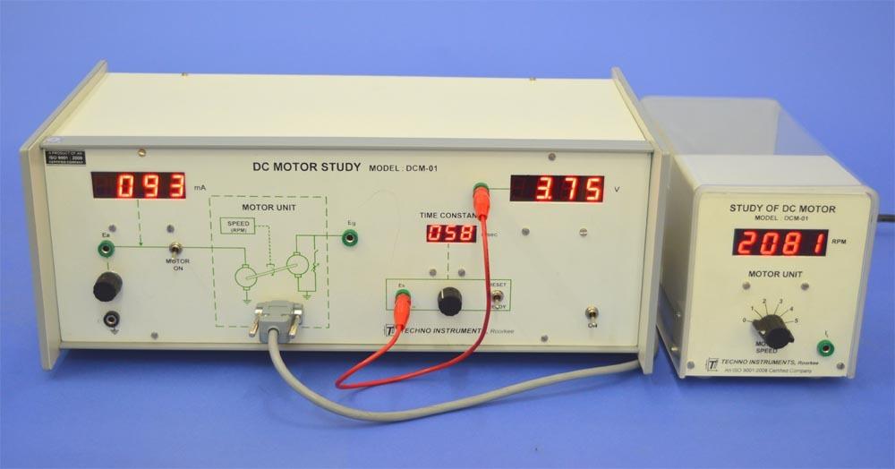 DC Motor Study, DCM-01