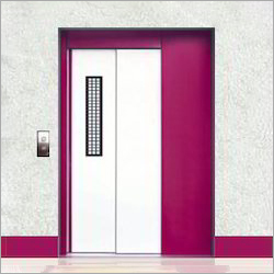 Telescopic Elevator Door