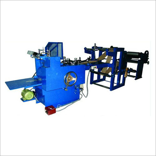 Paper Automatic Gusset Bag Making Machine