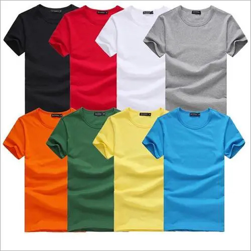 Mens Half Sleeve Round Neck T Shirt