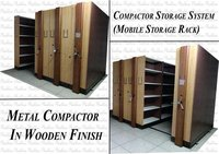 Wooden Printed Mobile Compactor