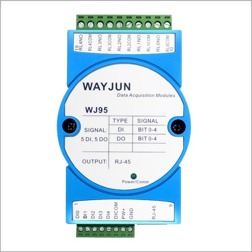 5-CH DI,5-CH DO,network relay,Modbus TCP Module