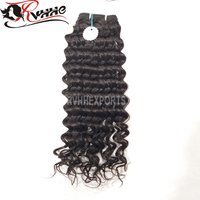Attractive Design Natural Black Color  Raw Virgin Hair Unprocessed Curly Raw Human Hair Vendors