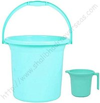 Plastic Buckets and Mugs