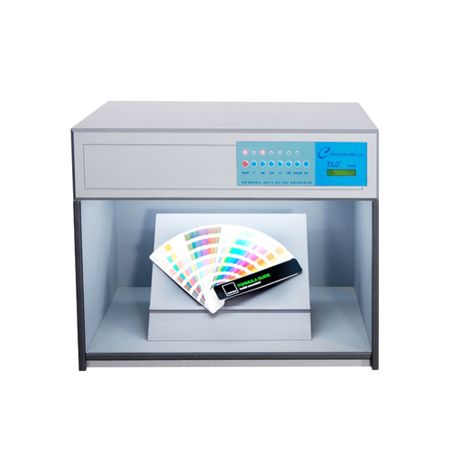 Color Assessment Cabinet For Textile