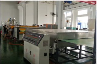 1220mm PC PE PP hollow sheet making machine