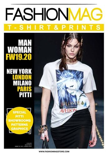 FASHION MAG T SHIRT AND PRINTS