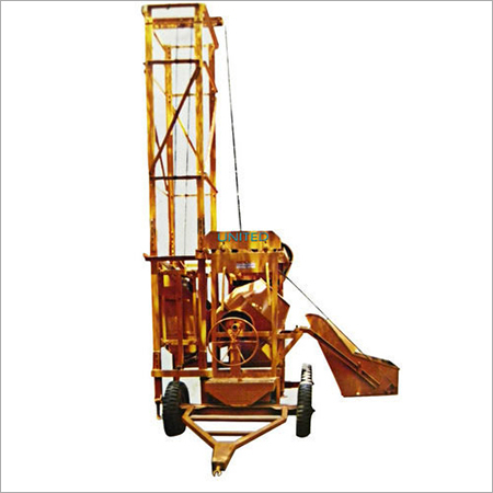 Concrete Four Leg Lift Mixture Machine