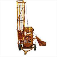 Concrete Four Leg Lift Mixture Machine