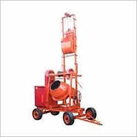 Concrete 2 Leg Lift Mixture Machine