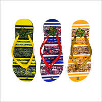 Ladies Designer Printed Slipper