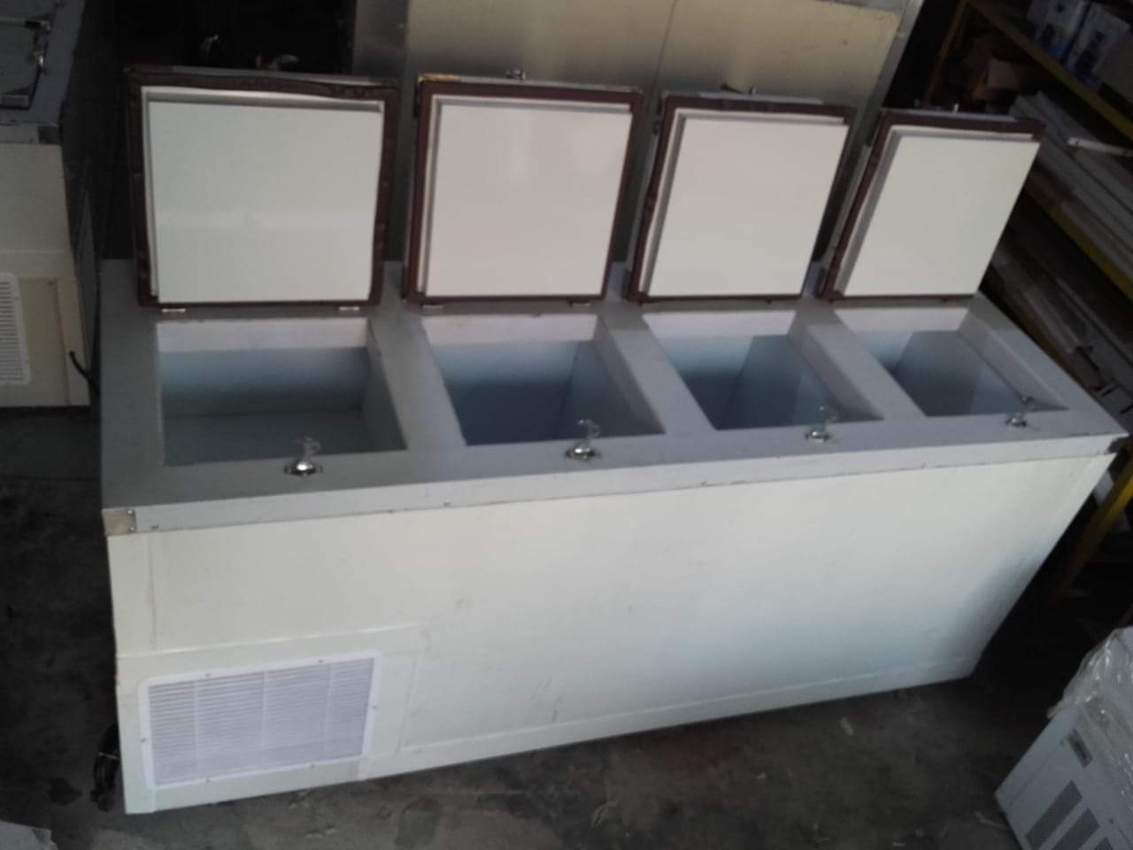 double door deep freezer 500 ltr