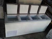 double door deep freezer 500 ltr