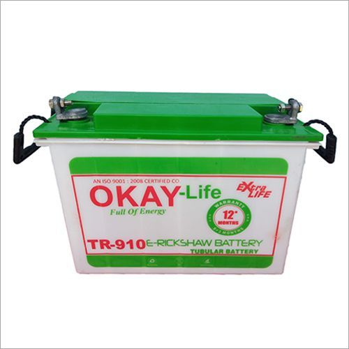 E-Rickshaw Tubular Battery100 AH