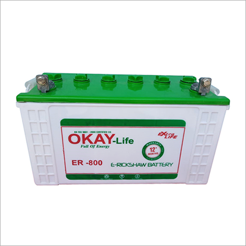 E-Rickshaw Battery 100 Ah
