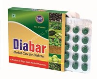 Diabar Herbal Care Capsules for Tablets
