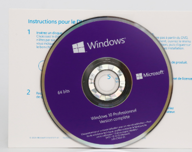 Win 10 Pro OEM Software French language FQC-08920