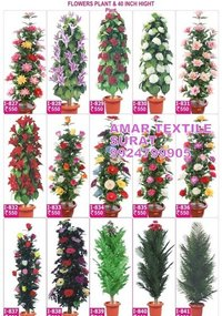 Handmade artificial flower garland