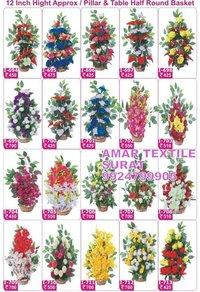 Handmade artificial flower decoration mandap